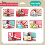 Pop Up Box Card Valentine Bundle 2