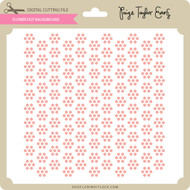 Flower dot Background