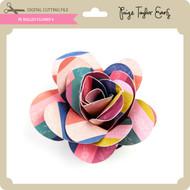 PE Rolled Flower 4