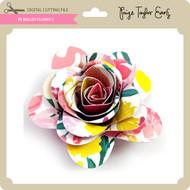 PE Rolled Flower 5