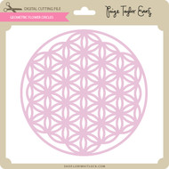 Geometric Flower Circles