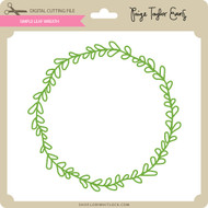 Simple Leaf Wreath