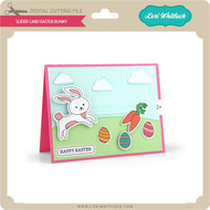 Slider Card Easter Bunny