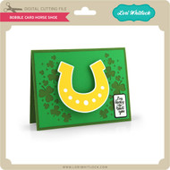 Bobble Card Horseshoe