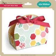 Tie Flap Treat Box