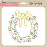 Holly Wreath 2