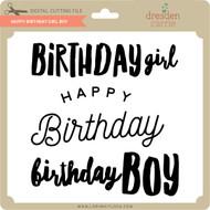 Happy Birthday Girl Boy