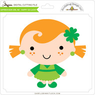 Leprechaun Girl #2 - Happy Go Lucky