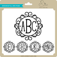 Monogram Full Wire Frame