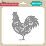Farmhouse Sign Cuts of Chicken