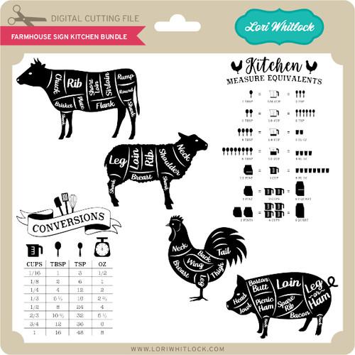 Download Farmhouse Sign Kitchen Bundle - Lori Whitlock's SVG Shop