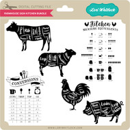 Farmhouse Sign Kitchen Bundle