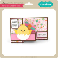 Pop Up Box Card Baby Chick