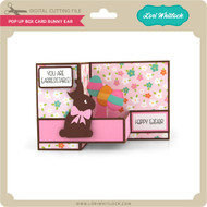 Pop Up Box Card Bunny Ear