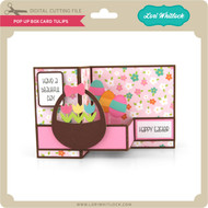 Pop Up Box Card Tulips