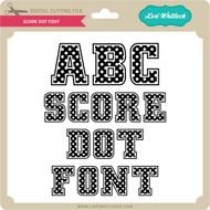 Score Dot Font
