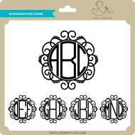 Monogram Wire Frame