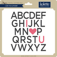 I Love You Alphabet