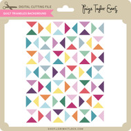 Quilt Triangles Background