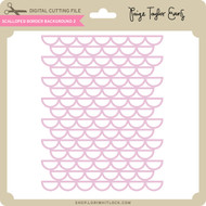 Scalloped Border Background 2
