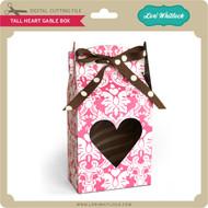 Tall Heart Gable Box