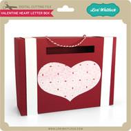 Valentine Heart Letter Box