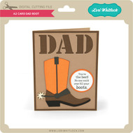 A2 Card Dad Boot