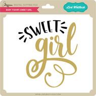 Baby T-Shirt: Sweet Girl