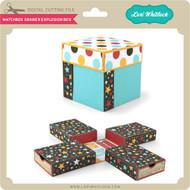 Matchbox Drawer Explosion Box