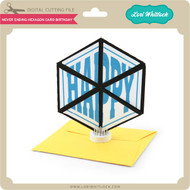 Never Ending Hexagon Card Birthday