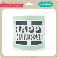 Flexi Card Happy Anniversary