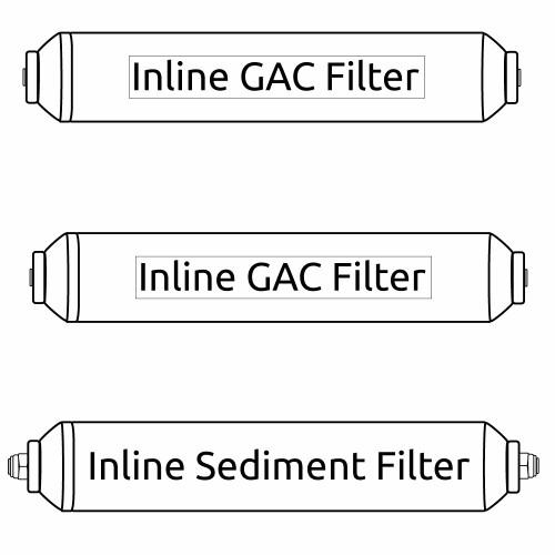 Portable RO Mikro Alpha Filter Kit