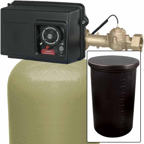 120k Commercial High Flow Metered Water Softener with Fleck 2850 On-Demand