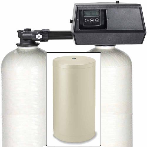 110k Digital Dual Alternating Tank IRON PRO Water Softener with Fleck 9100SXT