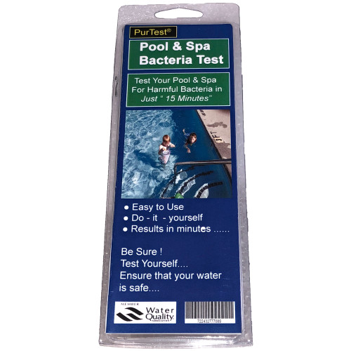 PurTest Pool and Spa Bacteria Test Kit