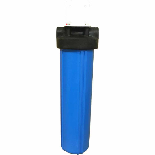 20-inch Single Canister Big Blue Carbon Whole House Filter