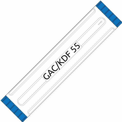 Big Blue 20-inch GAC/KDF 55 Filter