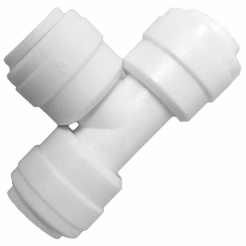 1/4-inch Quick Connect Union Tee Fittings