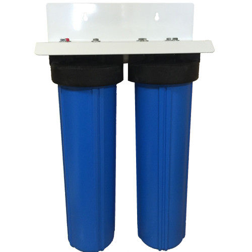 20-inch Two Canister Big Blue CUSTOM Filter System