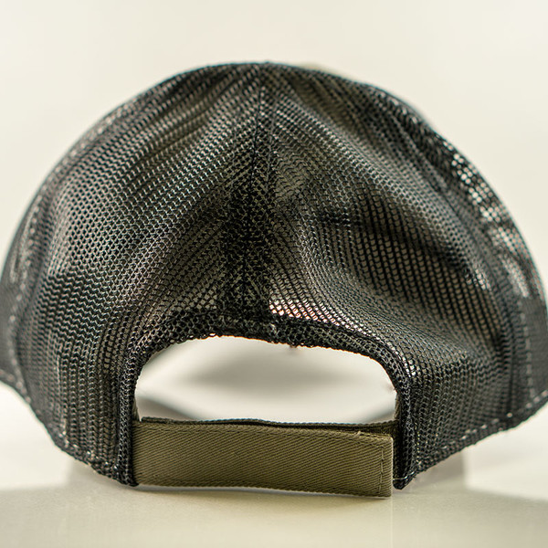 The Range cap has an open mesh back for great ventilation and secure hook and loop adjustment strap.