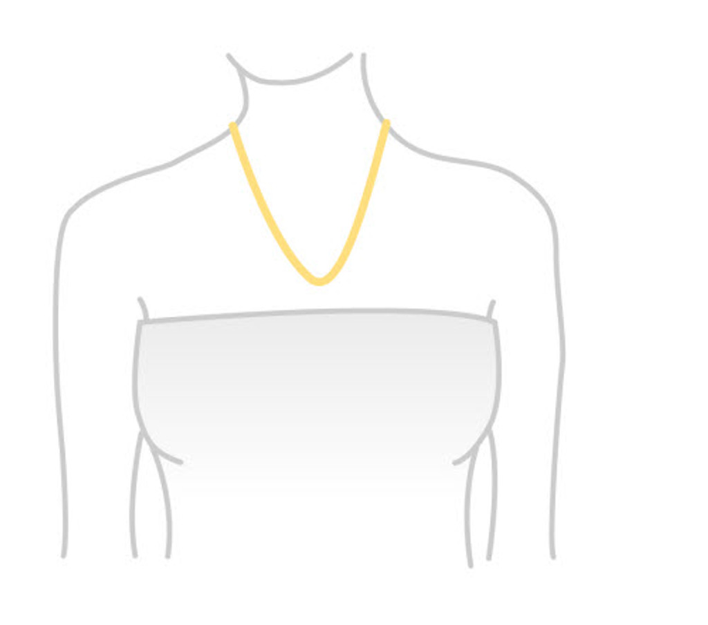 Citrine Sterling Silver Necklace