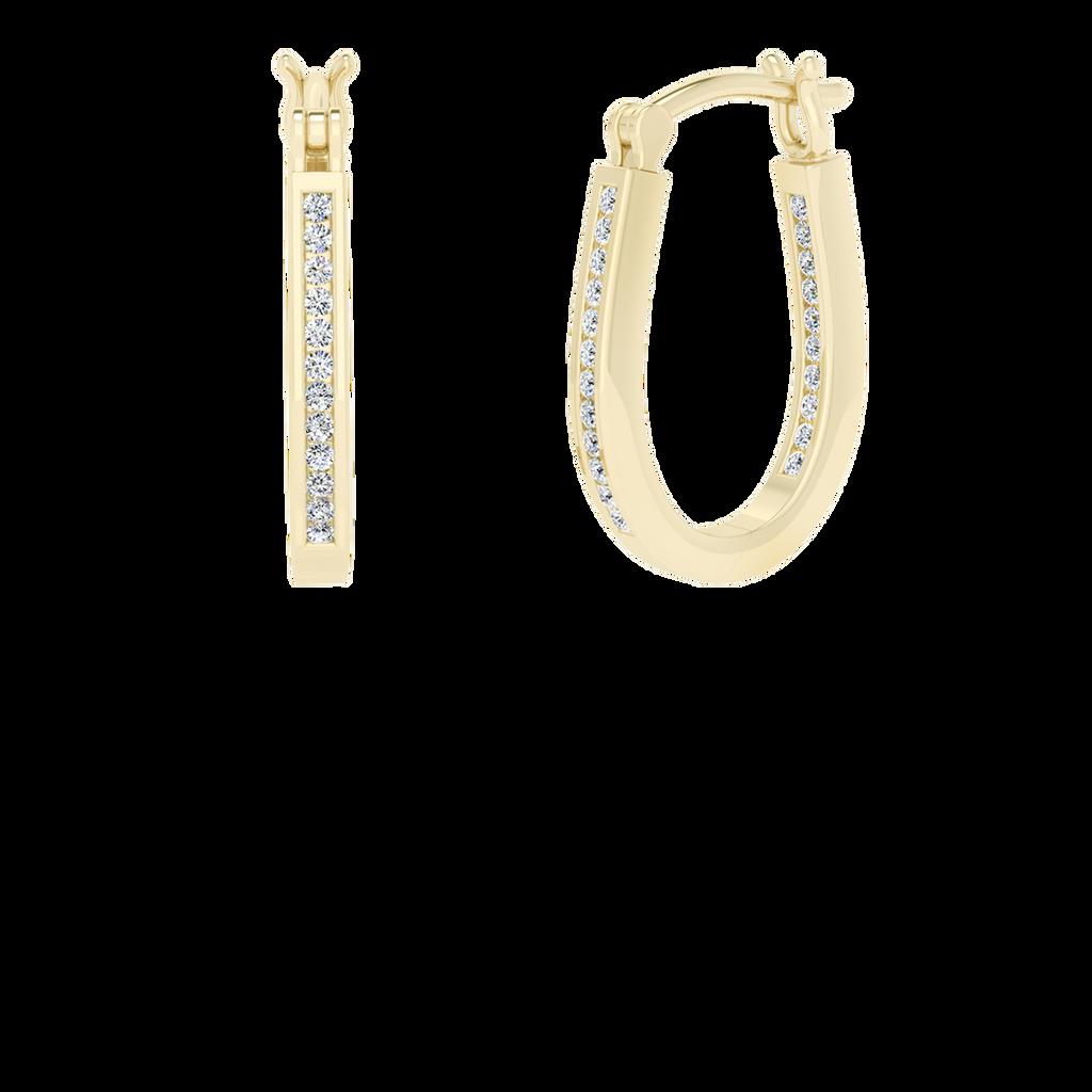 yellow-gold-diamond-hoop-earrings