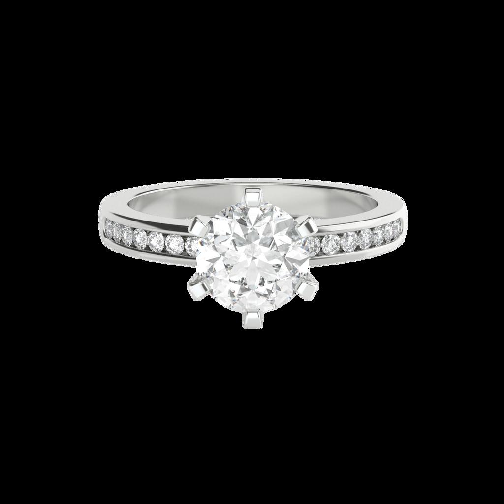 round-brilliant-1carat-diamond-6-claw-engagement-ring-channel-set-diamond-band-14-carat-white-gold-stylerocks