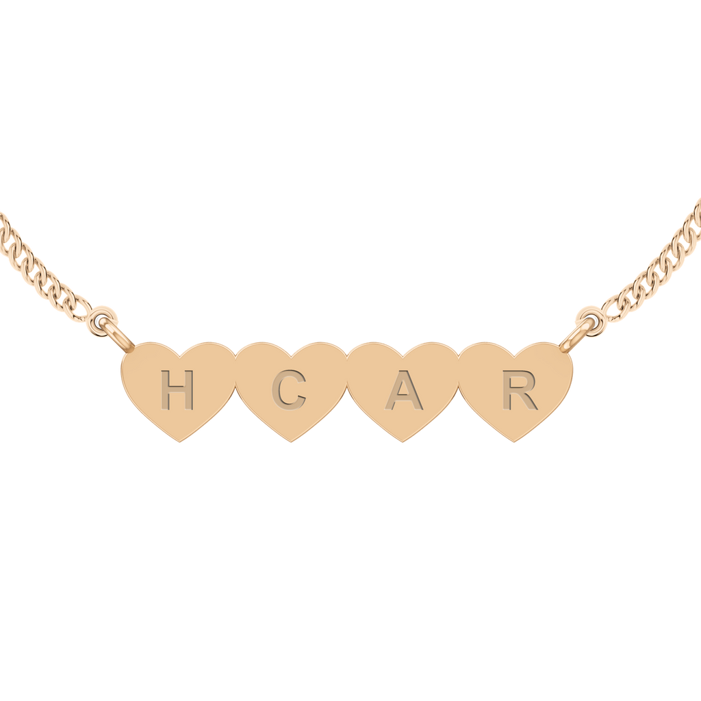 stylerocks-four-joined-hearts-necklace-9ct-rose-gold-engraved-arial