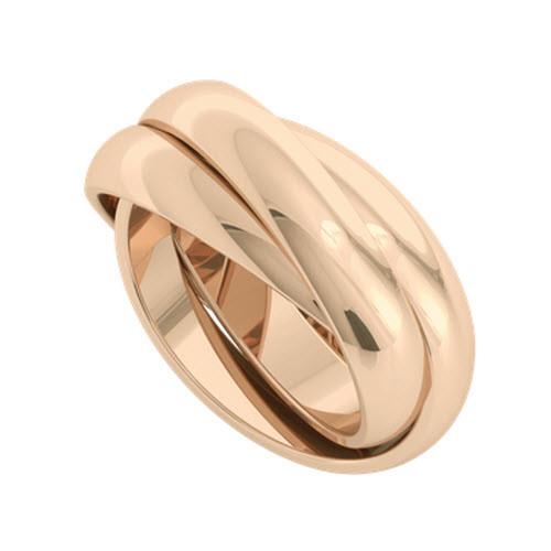 Russian Wedding Ring - Juno 18ct Rose Gold