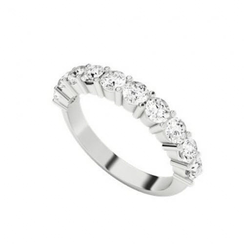 Diamond Eternity Ring 9ct White Gold