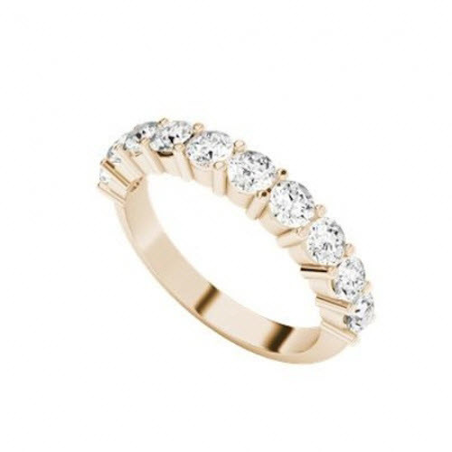 Diamond Eternity Ring 9ct Rose Gold