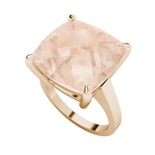 Morganite 9ct Rose Gold Cocktail Ring