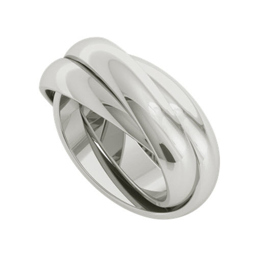 Russian Wedding Ring - Juno Sterling Silver