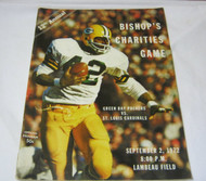 Bishop's Charities Packers vs Cardinals Sept 2 1972 Program